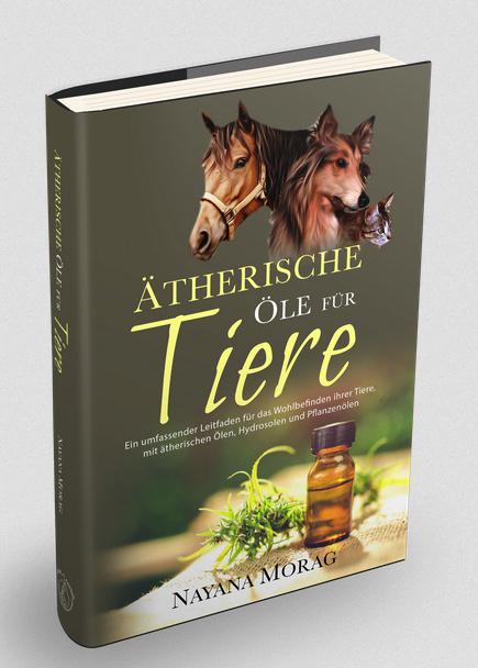 Ätherische Öle für Tiere - das Cover ist fertig!