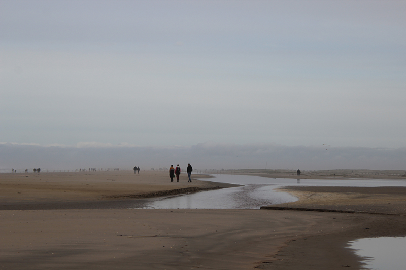 Mehr Strandbilder - ein Priel